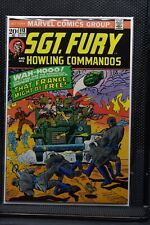 Sgt Fury and His Howling Commandos #113 Marvel Comic 1973 Stan Lee Ayers 8.5
