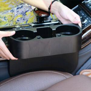 Car Seat Seam Wedge Cup Holder Food Drink Mount Storage Organizer Universal