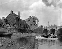 6x4 Gloss Photo ww5AB Normandy English Channel Saint From Ond 1944 5