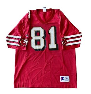 Vintage San Francisco 49ers Terrell Owens NFL Football Jersey By Champion M
