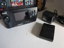 Sega Genesis Nomad (Sega Nomad) System, battery pack, adapter, in box,
