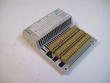 MODICON 170ADI34000 I/O BASE 24VDC IN-16PT MODULE - USED - FREE SHIPPING