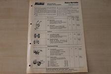 163291) Hako variette-prezzi & strumenti-PROSPEKT 10/1977