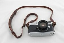Handmade Real Leather camera strap neck strap for film camera and EVIL camera