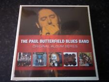 THE PAUL BUTTERFIELD BLUES BAND - ORIGINAL ALBUM SERIES 5 CD SET  2009 WARNER