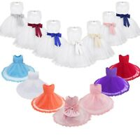 Infant Baby Flower Girls Baptism Christening Dress Pageant Party Lace Dresses