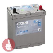 Original EXIDE Premium - für asiatische KFZ Starterbatterie EA386 12V 38Ah 300A