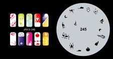 Fingernagel Schablone (airbrush nail art) JFH13-245