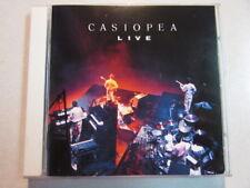 CASIOPEA LIVE 1985 JAPAN PRESS IMPORT 9 TRK CD JAPANESE JAZZ FUSION RARE HTF OOP