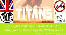 Planetary Annihilation: TITANS Steam key NO VPN Region Free UK Seller