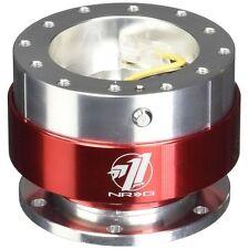 NRG SRK-100RD Ball Lock Steering Wheel Quick Release GEN 1.0 Silver/Red