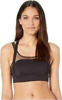 Alo Scope Women's 246783 Racerback Sports Bra Black Underwear Size L