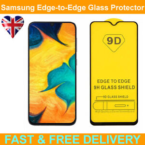 9D Edge to Edge Tempered Glass Screen Protector For Samsung Galaxy A70 SM-A705