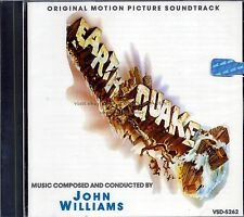 "John Williams ""EARTHQUAKE"" score CD VSD-5262 out of print SEALED"