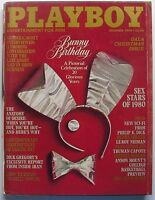 20 YEAR BUNNY PICTORIAL CELEBRATION December 1980 PLAYBOY Magazine TERRI WELLES