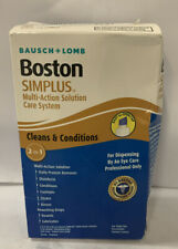 Bausch And Lomb Boston Simplus Multi-Action Solution 2-in-1 With Rewetting Drops