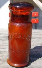 Ancien Flacon ,pot , bouteille  pharmacie VAUTHIER PARIS