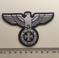 Reichsadler - Eiserne Kreuz Aufnäher / Patch (Deutsches Reich,Iron Cross,Rocker)