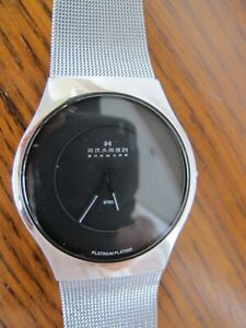 SKAGEN Stainless Steel Watch Grey great condition