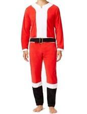 Briefly Stated Weihnachtsmann Pyjama GRÖSSE M Rot Weiß Einteiler Nachtwäsche
