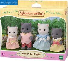 Sylvanian Families 5455 Perserkatzen Familie Persian Cat Family Epoch Neu OVP