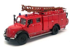 Siku 1/50 Scale Diecast 4115 - Magirus Auxiliray Fire Tender - Red