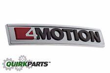 12-17 VW Volkswagen Tiguan 4Motion Emblem Decal Badge Nameplate 5N0853675PHQX