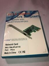 XCSOURCE RTL8111E 10/100/1000Mbps PCI-E Gigabit Ethernet LAN Network Card Adapte