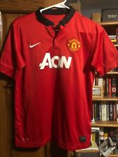 Boys XL NIKE Manchester United soccer jersey V. Persie Red