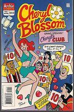 CHERYL BLOSSOM #1 ARCHIE 04/97 CLUBBING! 1ST ON-GOING SERIES DAN DeCARLO ART NM-