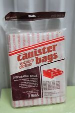 5055 Kenmore Canister 3 Bags Vacuum Cleaners Sears Genuine Disposable Paper New