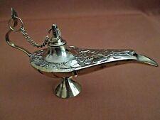 "5"" Brass Aladdin Style Lamp - Solid Brass - Magic Lamp - Decoration - Spiritual"