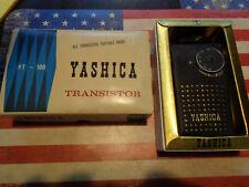 yashica YT-100 transistor radio