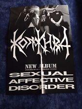 KONKHRA - Sexual Affective Disorder POSTER (60cm x 42cm)