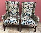 Hickory Chair Hand Crafted Pair of Delaware Host Chairs