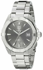 Tag Heuer Aquaracer Calibre 5 Anthracite Dial Steel Auto Watch WAY2113.BA0928