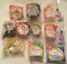 Lot of 10 McDonald's Happy Meal Toys, Transformers Hercules Etc