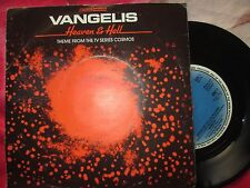 Vangelis ‎– Heaven & Hell  BBC Records And Tapes BBC 1 UK  7inch Vinyl Single