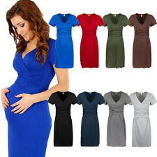 Nursing Pregnant Women Maternity Comfy Dress Breastfeeding Casual Party Dress