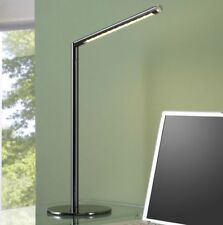 LED Schreibtischleuchte Schreibtischlampe Bürolampe Leselampe T36 Schwarz Chrom