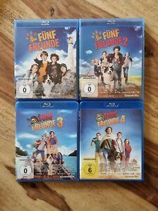 Fünf (5) Freunde 1+2+3+4 - Kinofilm # 4-BLU-RAY-SET-NEUWERTIG  ***