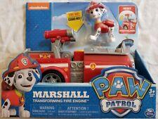 "Nickelodeon Paw Patrol Marshall's Transforming Fire Engine - ""NEW"""