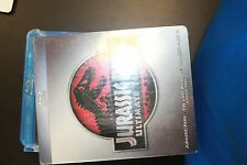 Jurassic Park Collection (Blu-ray Disc, 2011, 3-Disc Set)  open like new
