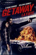 USED   DVD // GETAWAY // Ethan Hawke, Selena Gomez, Jon Voight, Rebecca Budig,