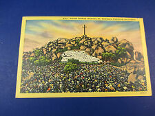 Easter Sunrise Services, Riverside,Ca Vintage Colorful Postcard Unused Pc14