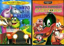 The Wind In The Willows & World's Funniest Cartoons V.2:2 Children & Family DVDs