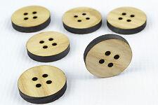 Tajadera grandes botones de madera 30mm/round shape/laser cut/beads/sewing / Manualidades