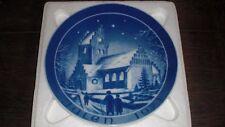 JULEN 1971 EJBY KIRKE CHURCH GERMAN CHRISTMAS PLATE KIRKE PLATTEN BACO