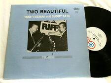 BUD FREEMAN & BUDDY TATE Two Beautiful Ted Easton LP