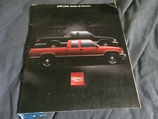 1995 GMC Sierra and Sonoma Pickups Original Brochure Catalog Prospekt
